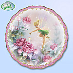 Disney Tinker Bell The Finishing Touch Collector Plate: Unique Home Decor