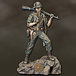 USMC The Spirit Of Semper Fi Collectible Sculpture: USMC Home Decor