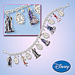 Disney Characters Charm Bracelet Jewelry Gift: Wickedly Beautiful