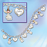 My Daughter, I Wish You Angel Charm Bracelet: Jewelry Gift For Daughters