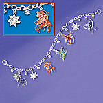 Spirited Fairies Charm Bracelet: Fairy Jewelry Gift For Her