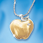 Teachers Are The Heart Of Learning Diamond Pendant Necklace: Engraved Teacher Jewelry Gift