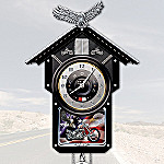 Motorcycle collectibles gifts - Motorcycle cuckoo clock ...