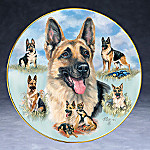 Linda Picken Loving, Noble And True German Shepherd Collector Plate