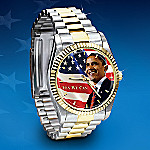 Barack Obama Commemorative Men's Watch