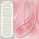 Genuine Freshwater Pearl Necklace For Granddaughter: Grandma's Pearls Of Wisdom
