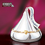 HERSHEY'S KISSES Dear Daughter Heirloom Porcelain Music Box