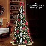 Thomas Kinkade Wondrous Winter Pullup Tree