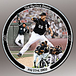 MLB Chicago White Sox Pitcher Mark Buehrle The Perfect Game Collector Plate