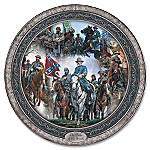 John Paul Strain Pride Of The South Civil War Collector Plate