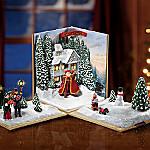 Thomas Kinkade Holiday Showcase Christmas Tabletop Decoration