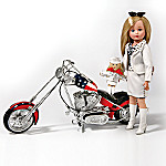Madame Alexander Collectible Chopper Chick Biker Doll