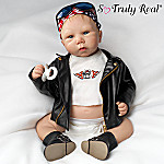Biker Babe Joey So Truly Real Lifelike Baby Doll