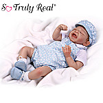 Zachary Collectible Baby Boy Doll: So Truly Real