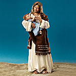 Footprints In The Sand Jesus Doll