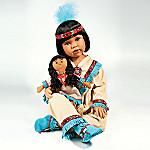 Little Moon Vinyl Native American Style Doll