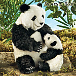 Mother's Tender Care Stuffed Giant Panda Bear Plush