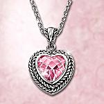 Precious In Pink Pendant