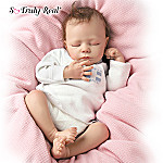 Ashley Breathing Lifelike Baby Doll: So Truly Real