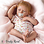Maggie Collectible Lifelike Baby Girl Doll: So Truly Real