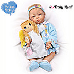 Precious Moments Elly Knoops Collectible Lifelike Baby Girl Doll: So Truly Real