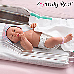 Collectible Lifelike Newborn Vinyl Baby Doll: So Truly Real Sweet, Sweet Baby