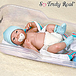 Dear, Dear Baby Collectible Lifelike Baby Boy Doll: So Truly Real