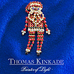 Thomas Kinkade Santa Claus Pin