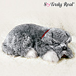 Lifelike Schnauzer Pet Dog Plush