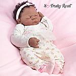 Linda Webb Ciara African American Realistic Vinyl Baby Doll So Truly Real
