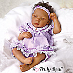 African American Leah Collectible Lifelike Baby Doll: So Truly Real