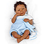 Caleb African American Collectible Lifelike Baby Boy Doll: So Truly Real