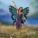 Butterfly Spirit Dancer Porcelain Doll
