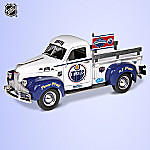 1:25 Go Oilers, Go! NHL Collectible 1947 Studebaker Pickup Truck Diecast