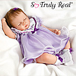 Sleepy Iris Blossom Baby Doll: So Truly Real