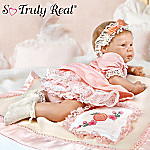 Peach Blossom Collectible Lifelike Baby Girl Doll: So Truly Real