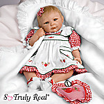 Apple Blossom Collectible Lifelike Baby Girl Doll: So Truly Real