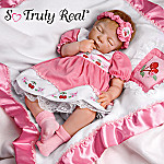 Cherry Blossom Collectible Lifelike Baby Girl Doll: So Truly Real