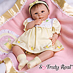 Lemon Blossom Collectible Lifelike Baby Girl Doll: So Truly Real