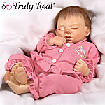 Rock-A-Bye Baby Collectible Lifelike Breathing Baby Doll: So Truly Real