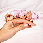 A Handful Of Love Collectible Miniature Lifelike Baby Doll