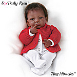 Tiny Miracles Infant Jasmine African American Baby Girl Doll: So Truly Real