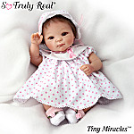 Tiny Miracles Sally Breast Cancer Charity Baby Doll So Truly Real