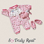 So Truly Real Baby Doll Clothing: Sleeper Set
