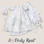 Tiny Miracles Emmy's World Baby Doll Clothing: Christening Ensemble