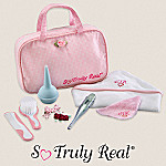 So Truly Real Baby Doll Accessories: Grooming/Baby Care Set