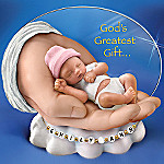 God's Greatest Gift Tiny Sleeping Baby Figurine