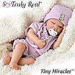 Tiny Miracles Hush Little Baby Miniature Lifelike Baby Doll: So Truly Real