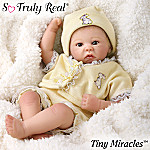 Tiny Miracles Rock-a-Bye Miniature Lifelike Baby Doll: So Truly Real