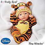 Tiny Miracles Drowsy Time Tigger Miniature Baby Doll With Sleeper: So Truly Real